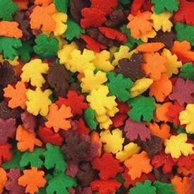 Fall Leaves Sprinkle Mix, 4 oz