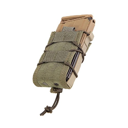 High Speed Gear Belt Mounted Single Rifle Mag Taco Pouch Olive Drab 13Ta00Od ()