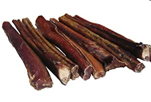 hdp jumbo bully sticks 12 size pack of 25 pet rawhide treat sticks pet supplies. Black Bedroom Furniture Sets. Home Design Ideas