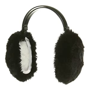 Ear Muffs-Black W20S35A