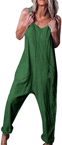 [해외]여성용 Joielmal 뽀 빠이 바지 올인원 뽀 빠이 바지 바지 와이드 팬츠 드레스 예쁜 와이드 팬츠 캐주얼 편안한 트렌드 올인원 엄마 무지 느긋한 경상 공기 봄 여름가을 / Ladies Joielmal Salopette All-in-One Salopette OverallWide Pants Dress B...