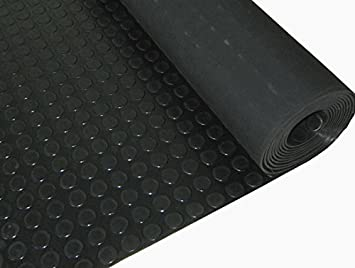 Fußbodenbelag Gummi ~ Münze muster gummi bodenbelag roll 4mm dick 1.5m breit 3m