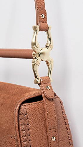Cognac Bag Bar Suede SANCIA Women's Babylon nOqtSwxPv