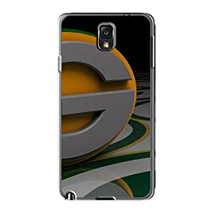 New Style Tpu Note 3 Protective Case Cover/ Sumsang Galaxy Case - Green Bay Packers