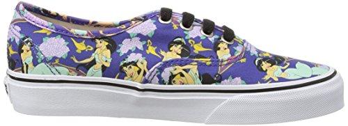 Vans Authentic, Zapatillas de skateboarding Unisex Azul (Disney - Jasmine/Deep Ultramarine)