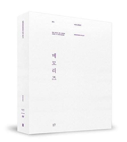 BigHit BTS MEMORIES OF 2017 DVD 5DVD+Photobook+Paper Frame+Postcard+Photocard+Free Gift
