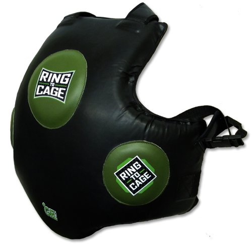 Ring to Cage GelTech Body/Trainers Protective Vest for MMA Muay Thai Kickboxing Boxing