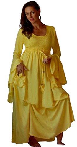 LOTUSTRADERS Damen Boho Renaissance Kleid Purple H5zHI - mci ...