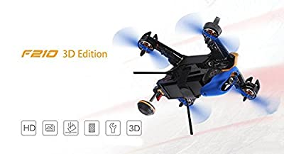 Walkera F210 3D Racing Drone Quadcopter with OSD / 700TVL Camera DEVO 10 Transmitter - RTF Version