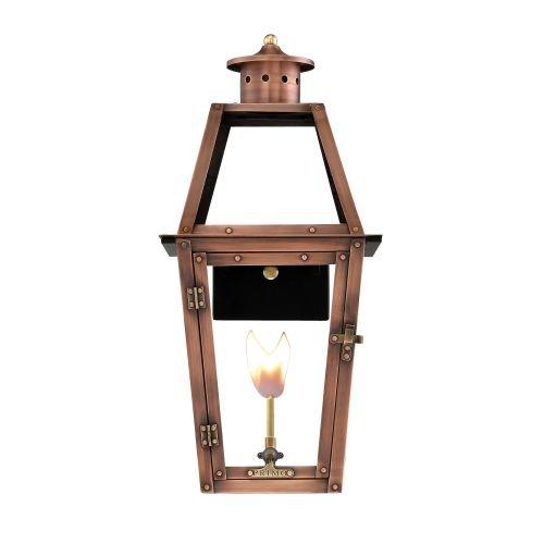 Primo Lanterns AD-24G Copper Lantern - Copper Natural Gas Light