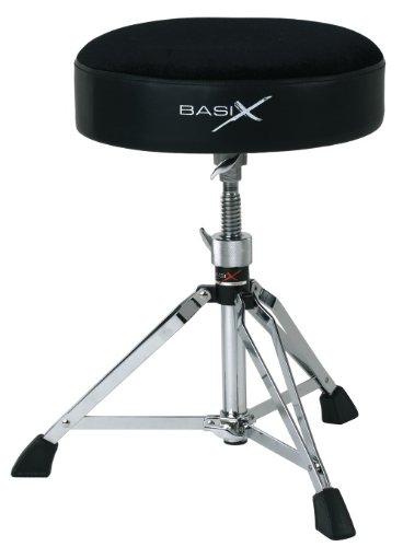 7 opinioni per Basix F805160 Sgabello per Batteria, Drum Throne, Tondo