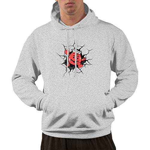 Men's Hoodie Sweatshirt Kool-Aid Man Sports Gray S -