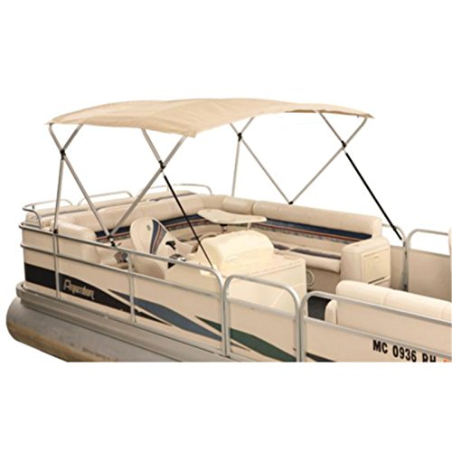 Atwood 369BE) Traditional Bimini Top, Beige