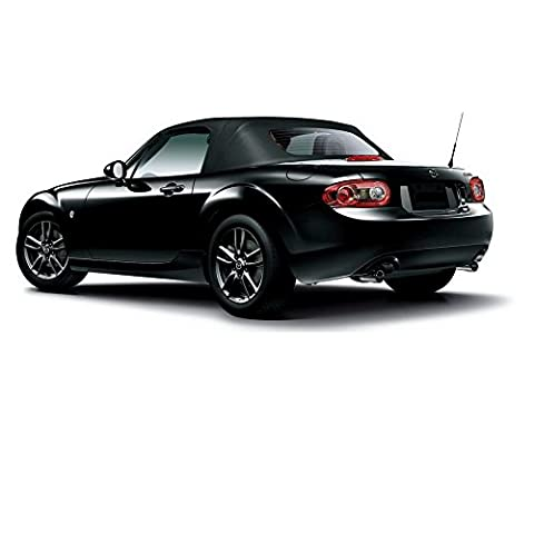 Mazda Miata Convertible Top 2006-13 & Heated Glass Window Black Cabrio