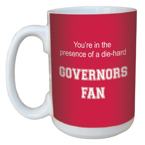 Tree-Free Greetings lm44636 Governors College Basketball Ceramic Mug with Full-Sized Handle, 15-Ounce ()
