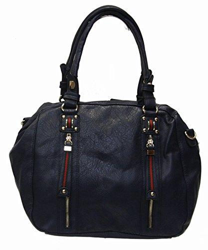 BRICIOLE Women s Shoulder Bag Blue Navy blue    Amazon.co.uk  Shoes   Bags fd5f04823bfce