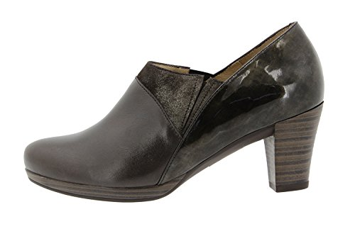 Confort Confortables Femme Amples Chaussure Caoba 9312 Cuir en PieSanto RPqnBxTa1P