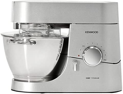 Kenwood KM010 1400W 4.6L Gris, Plata - Robot de cocina (4,6 L, Gris, Plata, Giratorio, Acero inoxidable, Acero inoxidable, Vidrio): Amazon.es: Hogar