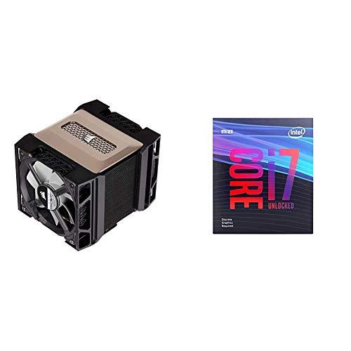 Corsair A500 High Performance Dual Fan CPU Cooler with Intel BX80684I79700KF Intel Core i7-9700KF Desktop Processor 8 Cores