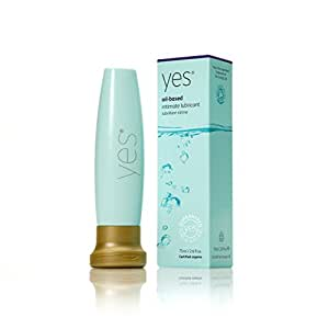 YES Personal Lubricant   Oil based Organic Personal Lubricant 2.6 oz / 75ml