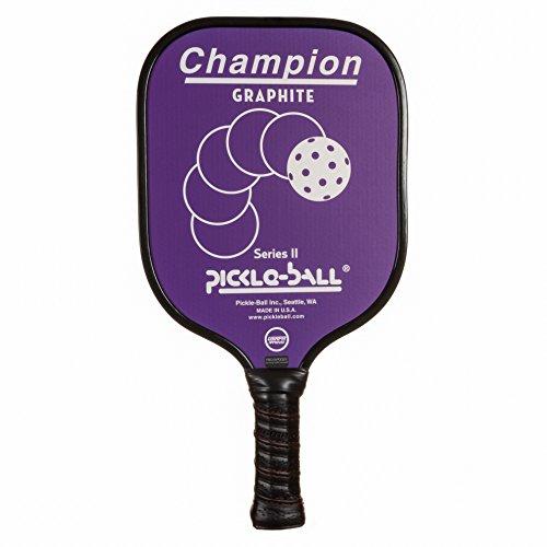 tage Champion Pickleball Paddle (Purple, Cushion grip - 4.25