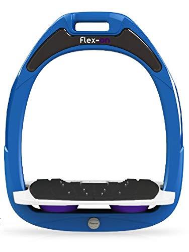 2019特集 【 限定】フレクソン(Flex-On) 鐙 パープル ガンマセーフオン SAFE-ON GAMME Parent SAFE-ON Mixed ultra-grip フレームカラー: ブルー フットベッドカラー: ホワイト エラストマー: パープル 09402 B07KMPSV8T Parent, BEASTIE VIBES:a49a5538 --- diceanalytics.pk