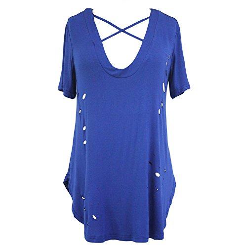 LikeYOU Womens Off Shoulder Slim Fit Midi Dress XXL (Fish Net Arm Sleeves)