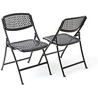 Amazon Com Folding Chairs Home Amp Kitchen