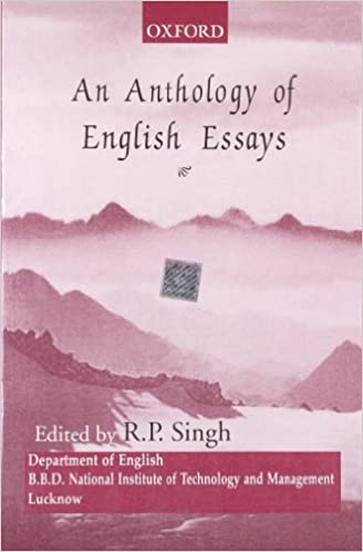Buy An Anthology Of English Essays Book Online At Low Prices In  Buy An Anthology Of English Essays Book Online At Low Prices In India  An  Anthology Of English Essays Reviews  Ratings  Amazonin