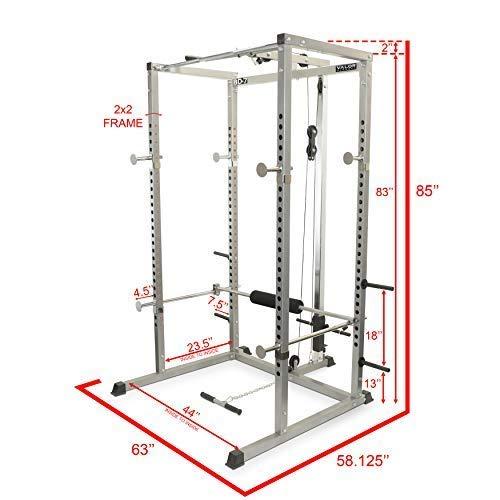 Valor Fitness BD-7 Rack /w Lat Pull