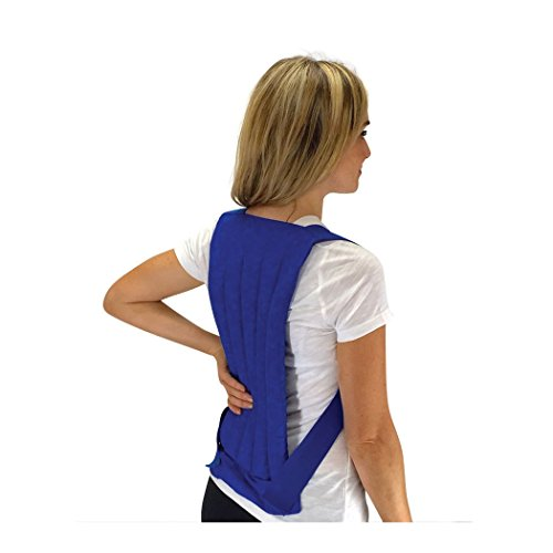 Nature Creation- Spine & Back - Stress & Sore Muscles - Herbal Hot and Cold Pack (Blue Marble)