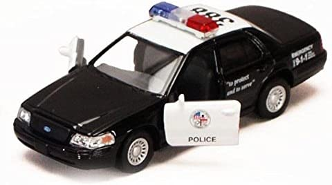Kinsmart Ford Crown Victoria Police Interceptor Black 5327 3d 1 42 Scale Diecast Model Toy Car Buy Online At Best Price In Uae Amazon Ae