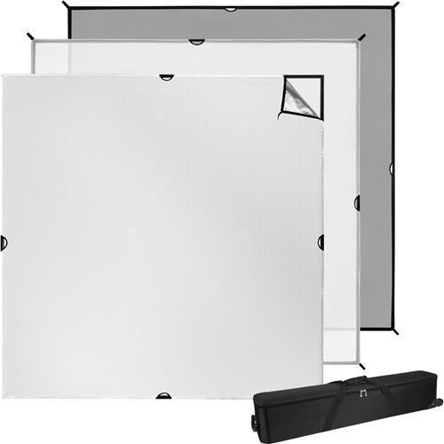 "Price comparison product image Westcott 8x8' Scrim Jim Cine Kit,  Includes Six 46"" Frame Tube,  Full-Stop Diffuser"
