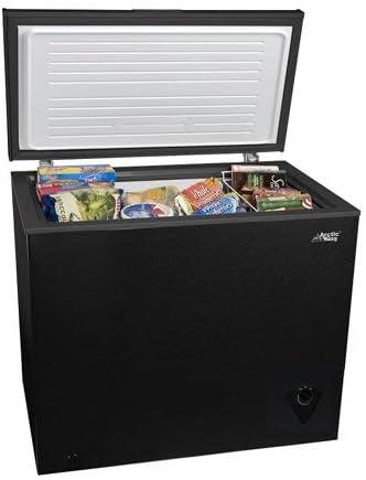 Arctic King congelador (7,0 pies cúbicos, negro con gratis ...