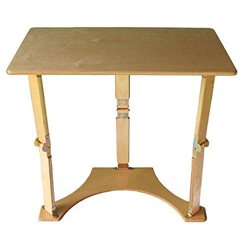 Folding Laptop Desk and Tray Table, Golden Oak 522538-OG-145209-O-782253 by Spiderlegs