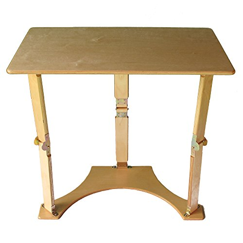 Folding Laptop Desk and Tray Table, Dark Walnut 522538-OG-145209-O-782255 by Spiderlegs