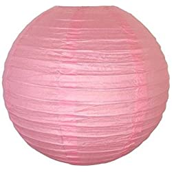 "12 pack 12"" Paper Lanterns Lamp Shades Party Supplies - Pink (PINK, 2)"