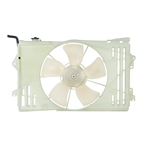 - NEW DUAL RADIATOR AND CONDENSER FAN FITS TOYOTA COROLLA 2003-2005 TO3115125