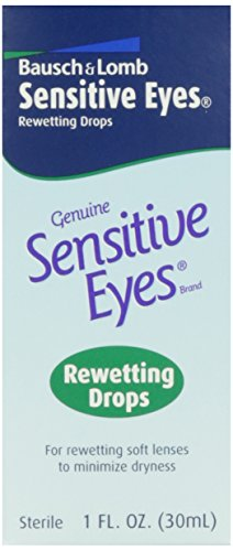 Price comparison product image Bausch & Lomb Sensitive Eyes Drops,  1 oz