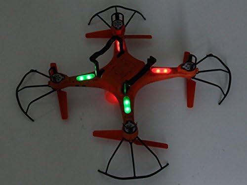 Dron impermeable GPTOYS H2O Aviax de 2.4 GHz 4 CH RC, quadcopter ...