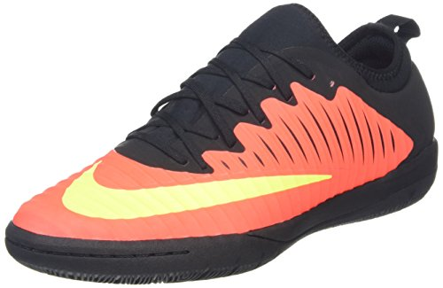 NIKE Men's MercurialX Finale II IC Total Crimson/VLT/Blk/Pink Blast/Blk Indoor Soccer Shoe 10.5 Men US