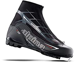 The Alpina T10 Cross-country Touring Boot adds a zippered lace cover for added warmth and protection to the popular T5 model. With Thinsulate brand insulation for added warmth, a comfortable anatomical foot bed, zippered lace cover and a PU c...