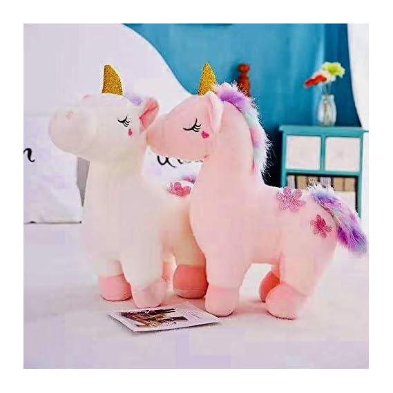 SCOOBA Stuffed Plush Unicorn Soft Toy for Kids -Single Piece 30cm