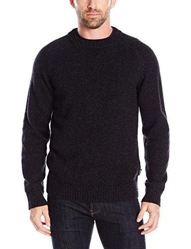 woolrich-mens-kennebeck-shetland-crew-ii-sweater-onyx-heather-xx-large
