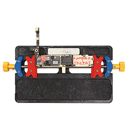 Universal Heat Resistant Mobile Phone Motherboard Repair Fixture Holder PCB Soldering Repair Holder with BGA Groove for iPhone 6 6S 6SP 7 7P 8 8P X XR Repair Hand Tool (Heat Mobile)
