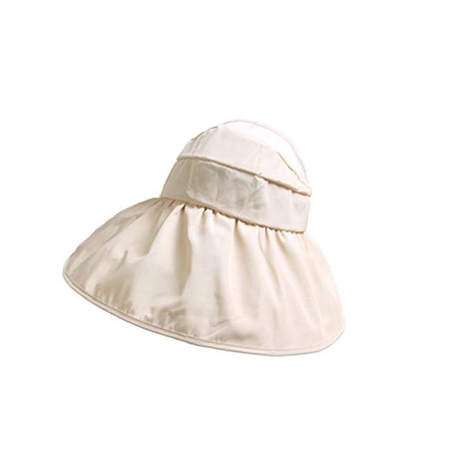 Gorros Sombrero Exterior para Mujer Sombrero Protección Solar Bordes Sencillos Redondeados Sombrero Sombrero Alpino Gorra Gorras
