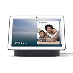 "Google Assistant Built-In Voice-Activated 10"" WXGA Touchscreen Far-Field Microphone System Built-In Wi-Fi & Bluetooth Connectivity Video Calls Live Photo Albums Ambient EQ Home View Built-In Speakers Recipes"