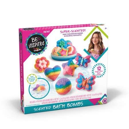 T Super Scented Bath Bombs DIY Fun Shapes Make 12 FIZZIES ()
