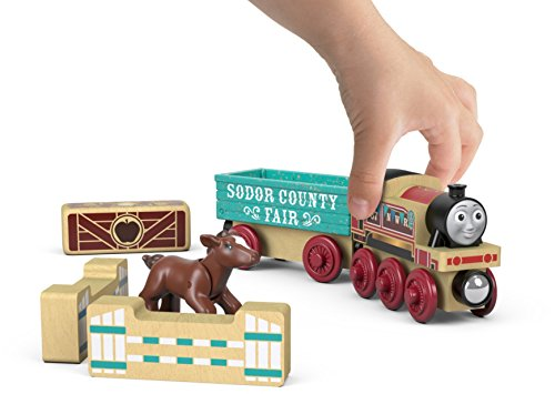 Fisher-Price Thomas & Friends Wood, Rosie's Prize Pony JungleDealsBlog.com