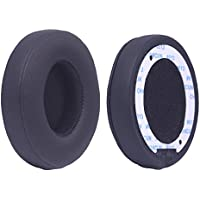 Bingle Cushions Exact Replacement Ear Pads for Beats SOLO 2 / 3 Wireless On Ear Headphone ONLY ( NOT FIT SOLO 2.0 WIRED ) - Black(BSO2B)
